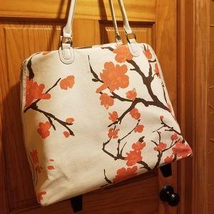 Handbags - Floral print Rolling Computer Bag
